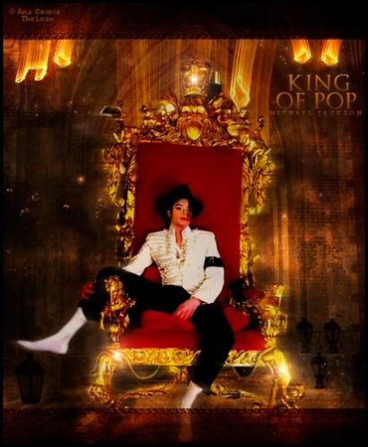 Flamboyant ! le roi de la Pop !