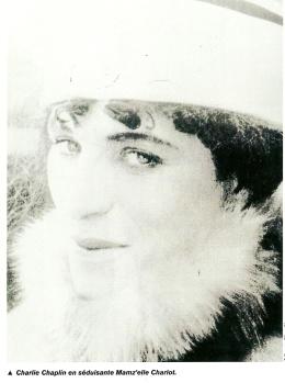 Chaplin en femme
