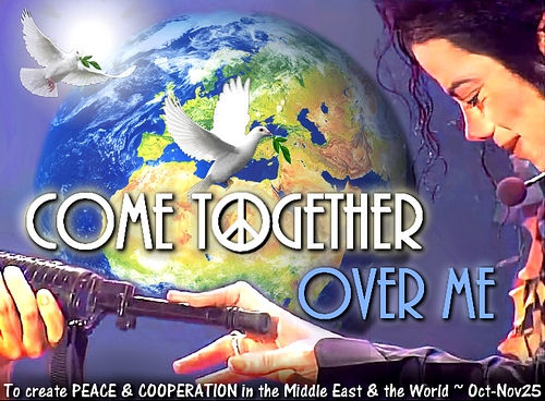 Come together 500width Oct to November 2012 peace middle east world
