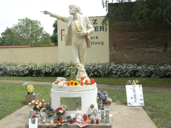 Michael Jackson memorial place in Best, The Netherlands