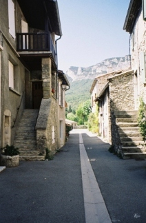 Saoû - Rue de l'Oume