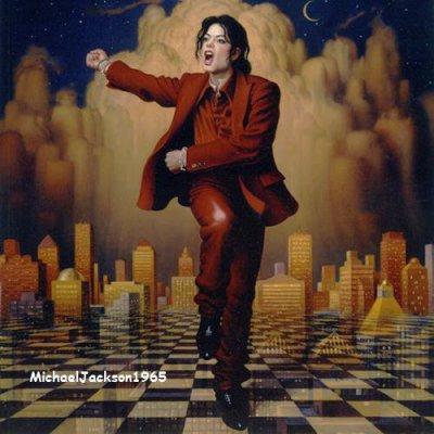MJ mime le chiffre 7 sur un échiquier