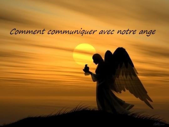 communiquer avec notre ange