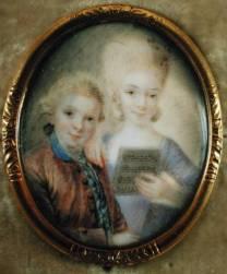 Mozart et sa soeur
